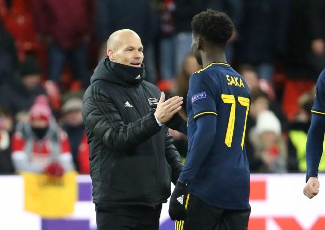 Arsenal star Bukayo Saka sends message to Freddie Ljungberg after ...