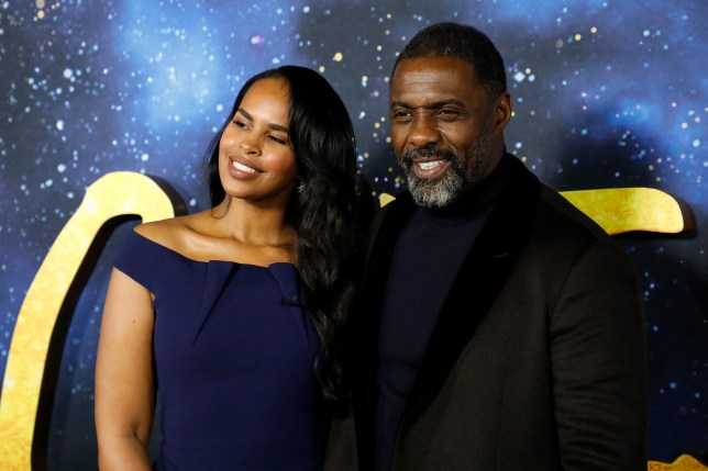 Idris Elba and wife Sabrina Dhowre