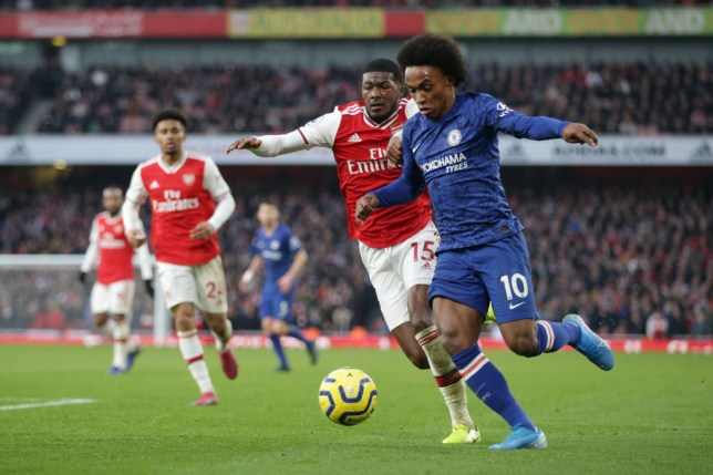 Willian has joined Arsenal from Chelsea on a free transfer