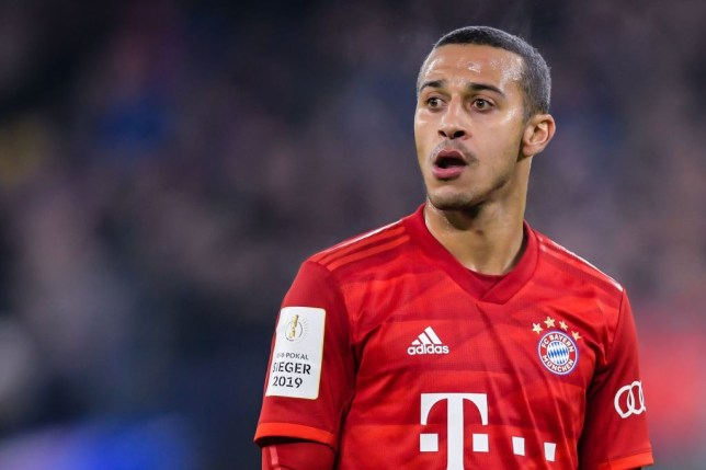 Liverpool have been heavily linked with a move for Thiago Alcantara