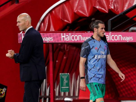 Zinedine Zidane explains Gareth Bale's absence from Real Madrid squad to face Manchester City
