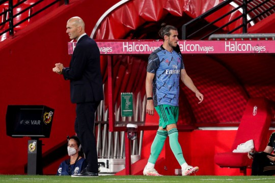 Gareth Bale has fallen out of favour with Zinedine Zidane
