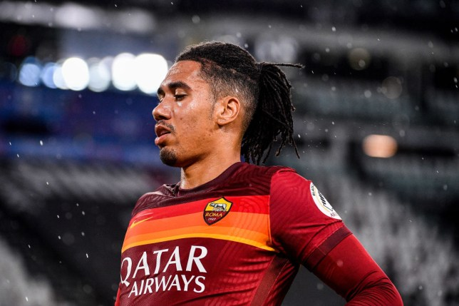 Chris Smalling impressed on loan at Roma from Manchester United last season