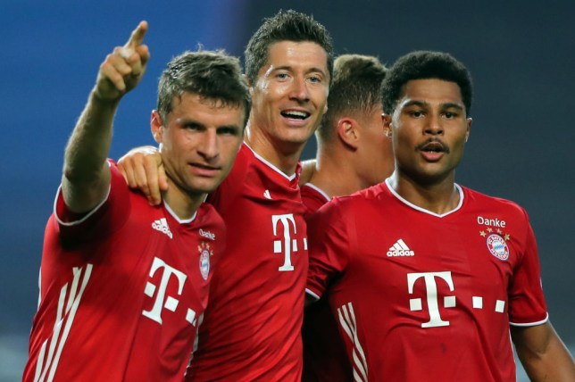 Bayern Munich powered past Lyon to reach the Champions League final