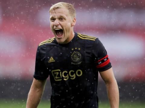 Manchester United complete signing of Donny van de Beek from Ajax