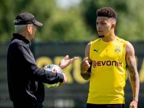 Borussia Dortmund boss Lucien Favre speaks out on Jadon Sancho's future and identifies where forward must improve