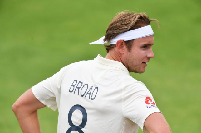 England bowler Stuart Broad was left out of the first West Indies Test