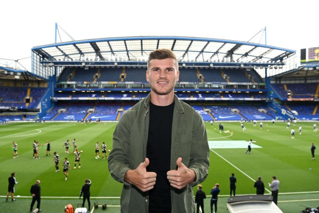 Chelsea completed the signing of Timo Werner from RB Leipzig last month