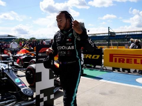 Lewis Hamilton sets Silverstone record to claim pole at British Grand Prix