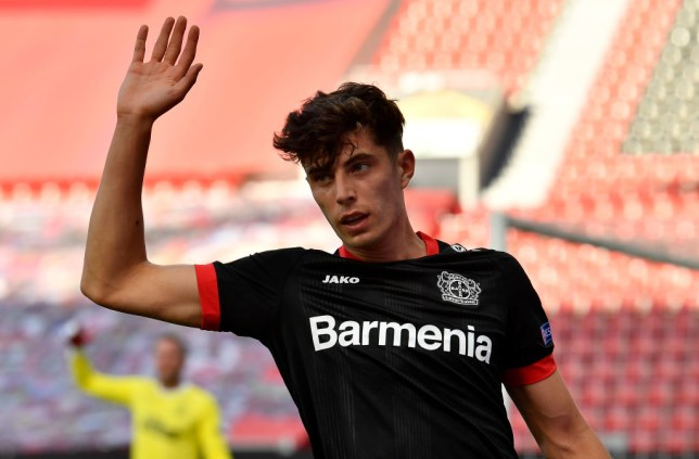 Havertz has been strongly linked with a move to Stamford Bridge