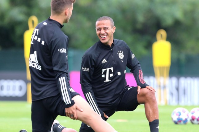Liverpool stars 'like' Thiago Instagram post after Bayern Munich star agrees contract