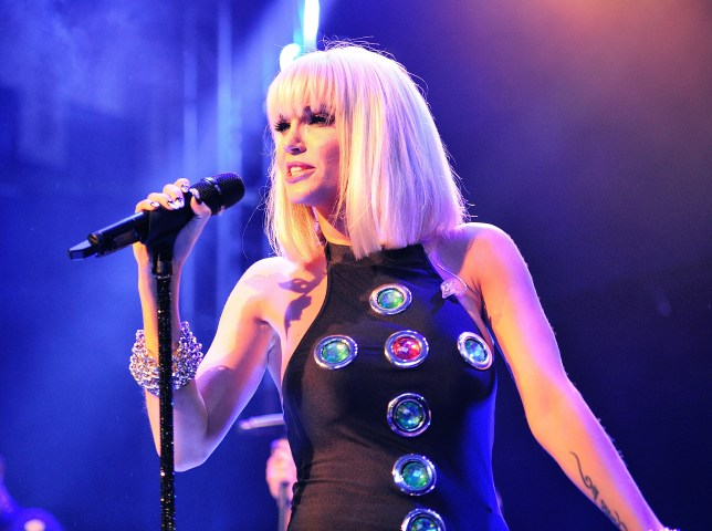 Sarah Harding Performs At O2 Islington Academy In London