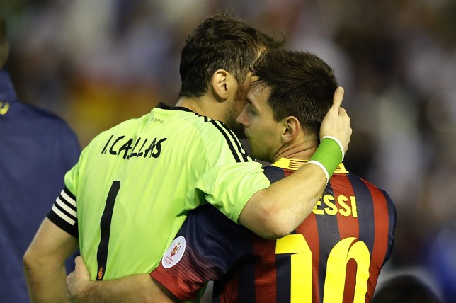 Lionel Messi sends class message to Iker Casillas after retirement announcement