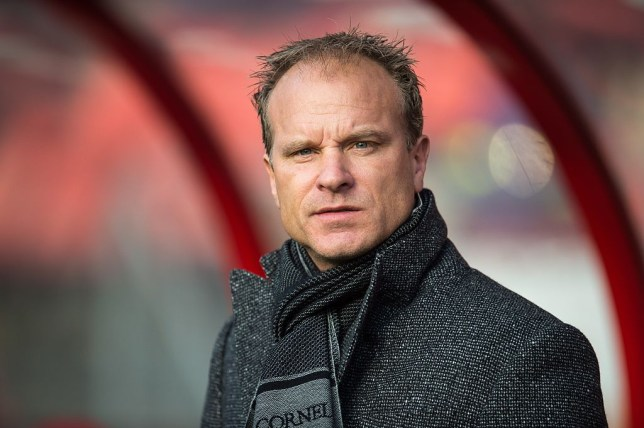 assistent trainer Dennis Bergkamp of Ajax during the Dutch Eredivisie match between FC Utrecht and Ajax Amsterdam at the Galgenwaard Stadium on December 13, 2015 in Utrecht, The Netherlands