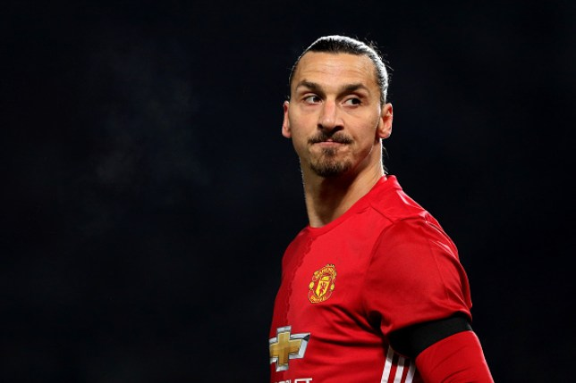 Zlatan Ibrahimovic spent two years at Manchester United