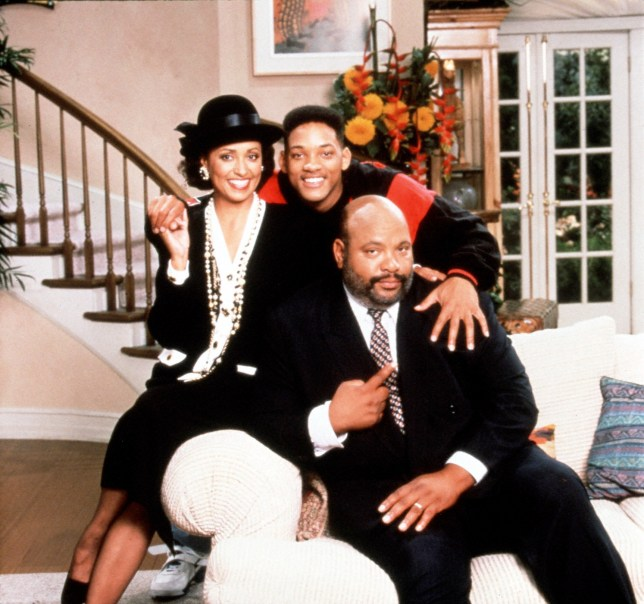 Television programme : The Fresh Prince of Bel Air starring Will Smith.