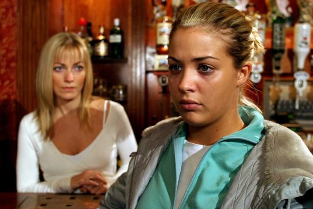 Gemma Atkinson as Lisa on Hollyoaks