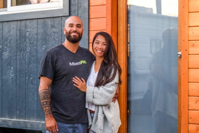 Couple build dream 'tiny home on wheels' so they can travel across the country working as rehabilitation therapists