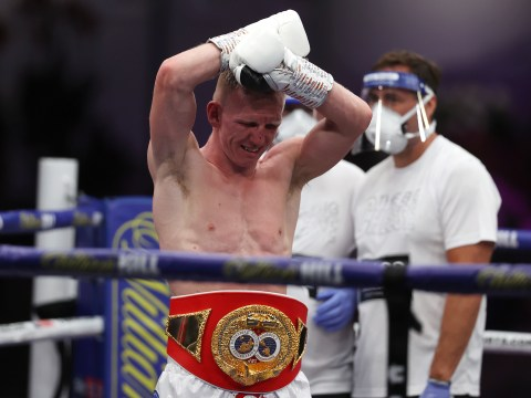 Declan Rice sends message to Ted Cheeseman after boxer on verge of tears in post-fight interview