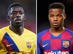 Barcelona fear Man Utd will bid for star attackers if Jadon Sancho move fails