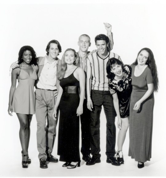 TELEVISION PROGRAMME Hollyoaks Picture shows (l-r) Yasmin Bannerman, Nick Pickard, Shebah Ronay, Will Mellor, Jeremy Edwards Lisa Williamson and Brett O'Brien.