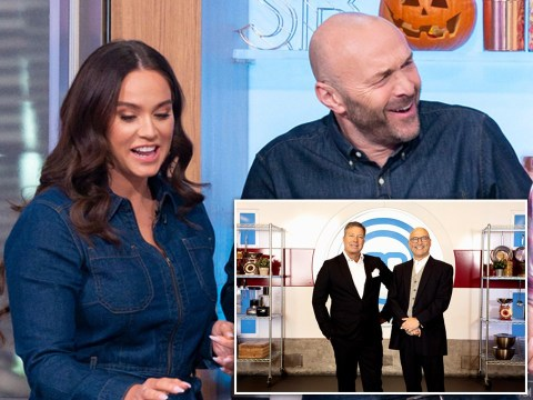 Sunday Brunch host Tim Lovejoy takes cheeky swipe at Masterchef's John Torode and Gregg Wallace: 'They're useless'