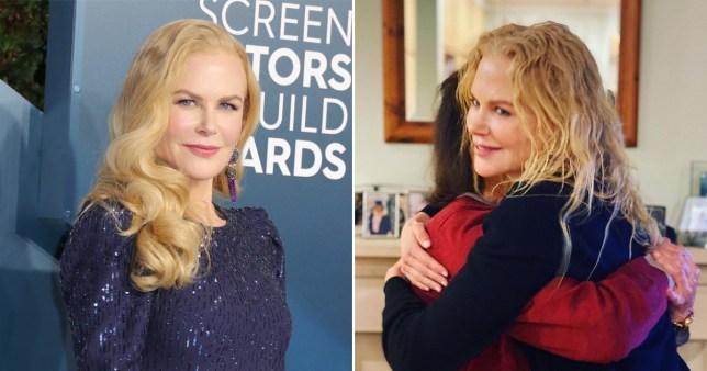 Nicole Kidman and her mum