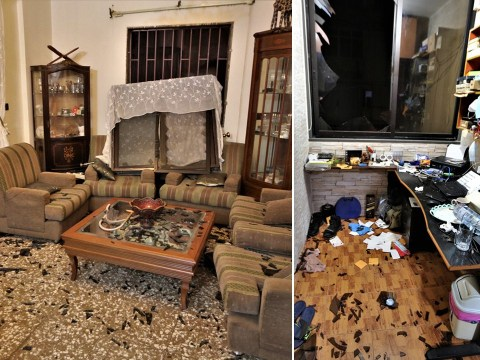Witnesses describe how blast shattered windows and destroyed their homes