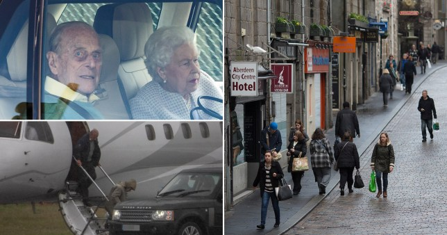 Aberdeen back in lockdown day after Queen passes through airport as cases spike