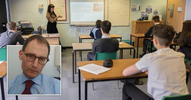 Professor Neil Ferguson has raised concerns about schools returning