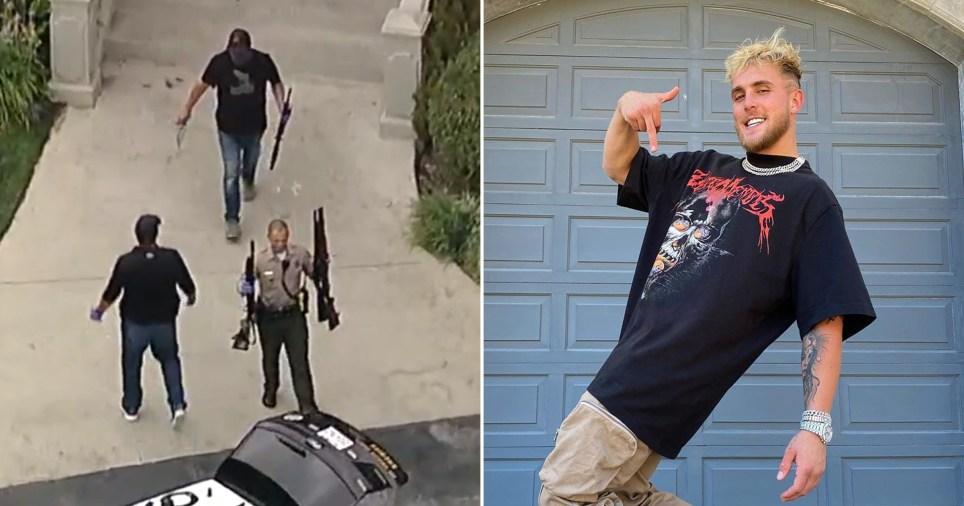 Jake Paul's house 'raided by the FBI'