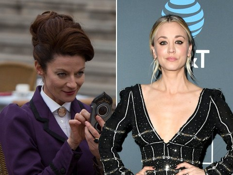 Doctor Who and The Big Bang Theory are colliding in new Kaley Cuoco series The Flight Attendant