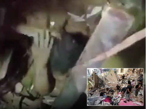 Girl found alive in Beirut after spending 24 hours under rubble