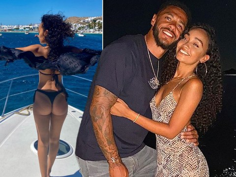 Leigh-Anne Pinnock and Andre Gray are pure holiday goals as they celebrate engagement in Greece