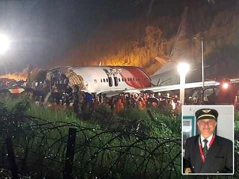 At least 16 dead including pilot after plane crash lands and splits in two on runway