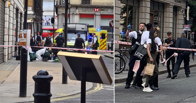 Oxford Street cordoned off after fatal stabbing