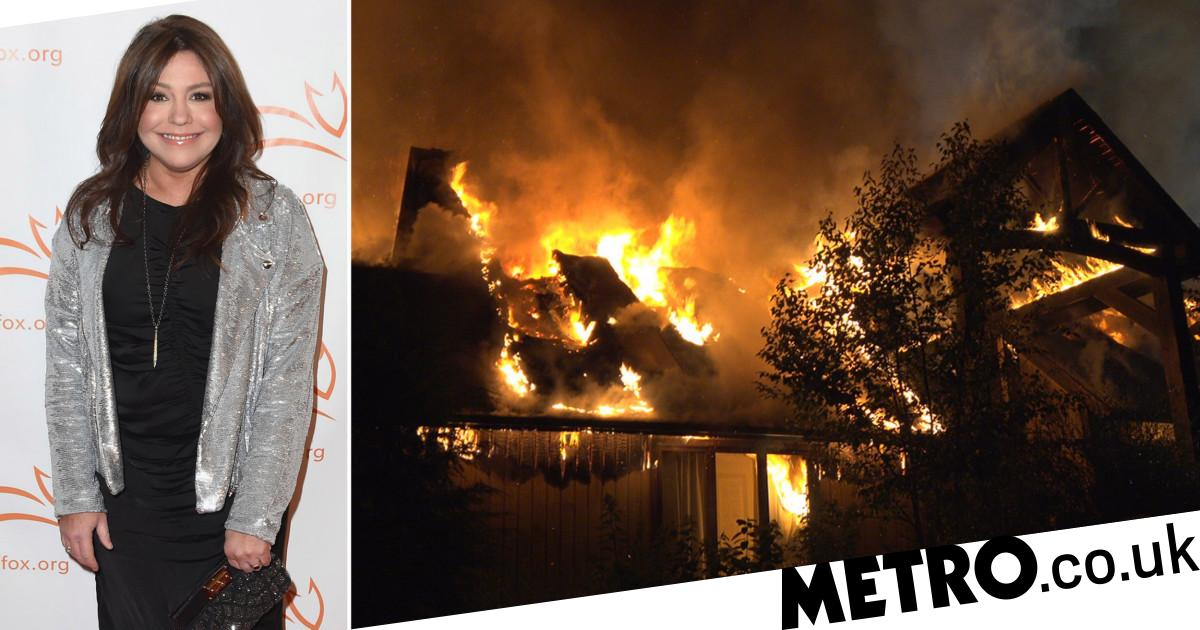 Rachael Ray fire: Celebrity chef 'safe' after huge blaze ... Rachael Ray House Fire Video