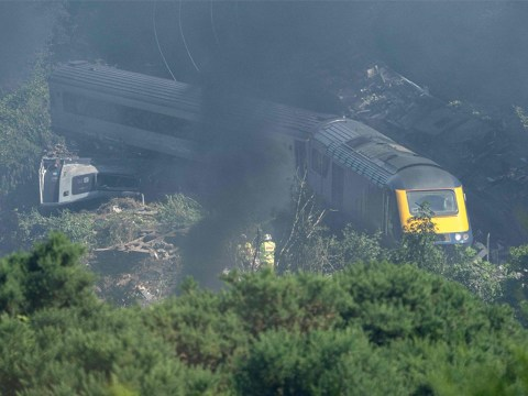 Dozens of 'high-risk' railways similar to Stonehaven crash site to be inspected