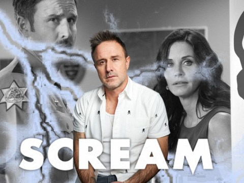 Scream 5's David Arquette lifts lid on working with ex-wife Courteney Cox again