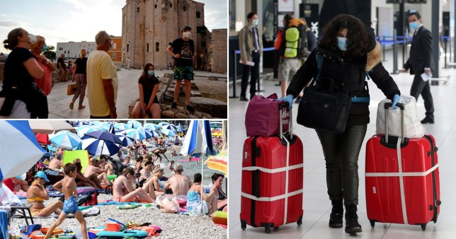Croatia could be added to the UK's travel quarantine list.