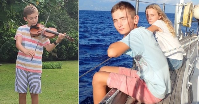 Eddie Jarman, 14, was killed by a speedboat while snorkelling to check the family's yacht during a dream trip around the world.