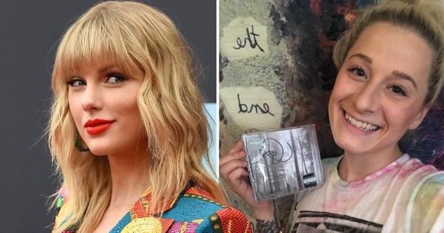 Taylor Swift and fan Brandy Baenen