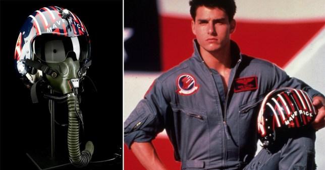Tom Cruise helmet