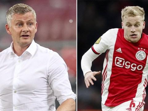 Ole Gunnar Solskjaer requests three further signings after Manchester United complete Donny van de Beek deal
