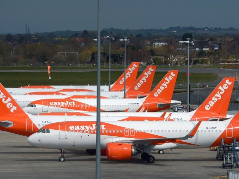When will EasyJet flights from Stansted, Newcastle and Southend stop running?