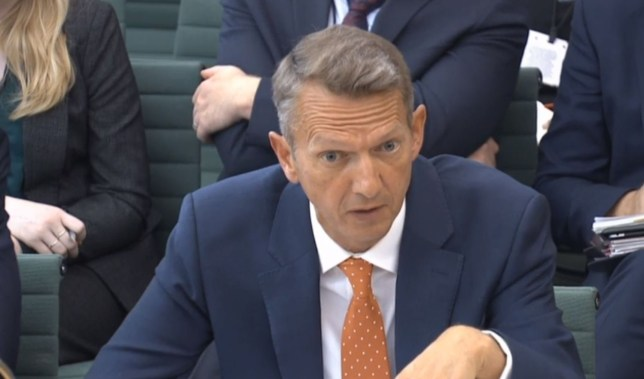 Chief Economist and Executive Director, Monetary Analysis & Statistics Andy Haldane giving evidence to the Treasury Select Committee at the House of Commons, London, on the subject of Bank of England Inflation Reports.
