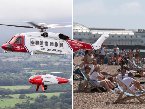 Coastguard has its busiest day in four years on third hottest day ever