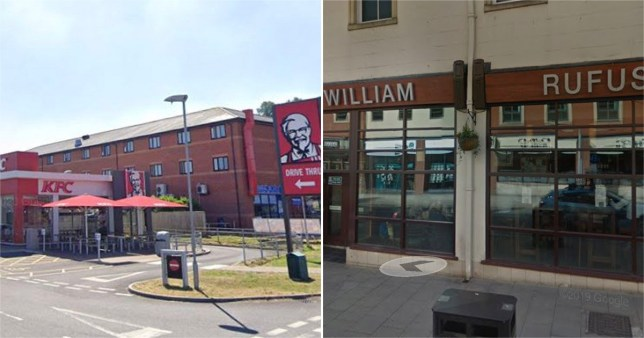 Wetherspoons and KFC close as staff members get coronavirus