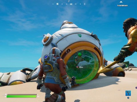 How to find and launch the ancient ship in Fortnite's Astronaut Challenges