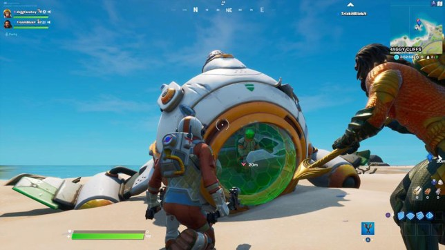 The Fortnite Astronaut Challenges